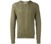 - Pullover mit Zopfstrickmuster - men - Baumwolle