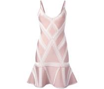 - Jacquard-Kleid mit V-Ausschnitt - women