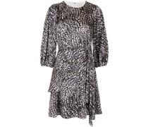 Sylvie animal-print dress