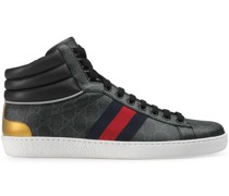 'Ace' High-Top-Sneakers mit GG