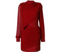 Drapiertes Kleid mit schmaler Passform