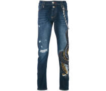 Sadness Super Straight Cut jeans