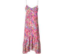 Seidenkleid mit floralem Muster - women