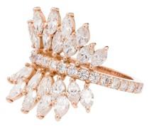 18kt 'Butterfly' Goldring mit Diamanten