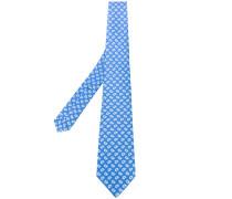 paisley pattern tie - men - Seide