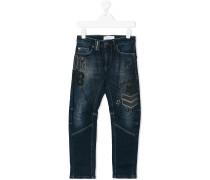Skinny-Jeans in Stonewash-Optik