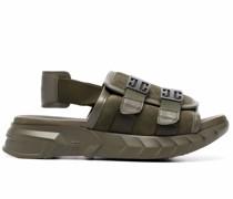Anagram-motif sandals