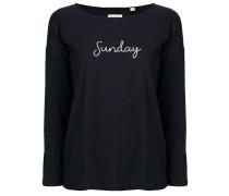 """Oberteil mit """"Sunday""""-Schriftzug"""