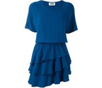 Kleid mit Volant-Rock