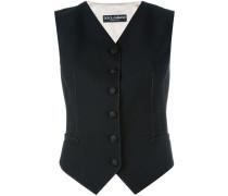 contrast back waistcoat