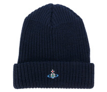 embroidered orb beanie