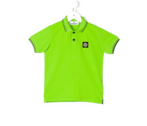 - Poloshirt mit Logo-Patch - kids
