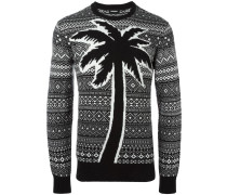 Pullover mit Palmenmotiv