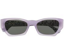 Sonnenbrille mit Zebramuster