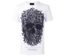 T-Shirt mit Totennkopf-Print - men - Baumwolle