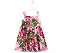Kleid mit Rosen-Print