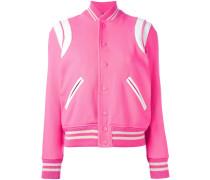 classic teddy varsity jacket