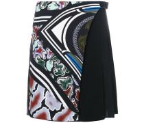 side pleated skirt