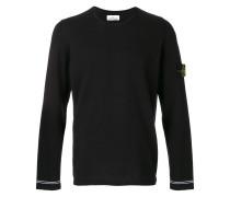 contrast trim thin jumper