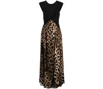 Bodenlanges Kleid mit Print