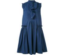 Kleid mit Volant - women - Baumwolle - 40