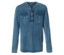 Hemd mit Schnürung - men - Baumwolle - XL