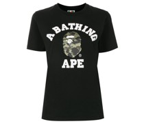 A BATHING APE® T-Shirt mit Print