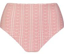 Bikinihöschen mit geometrischem Print