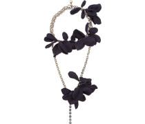 Versilberte 'Gina Sautoir' Halskette