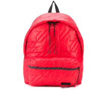 quilted padded backpack