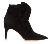 slit front ankle boots - women