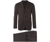 - single breasted suit - men