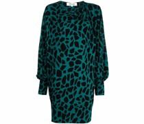 Kleid mit Giraffen-Print