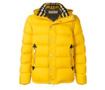 detachable sleeve padded jacket