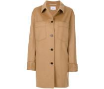 double chest pocket coat