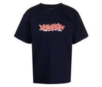 """T-Shirt mit """"Rassvet""""-Print"""