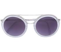 Runde Sonnenbrille - women - Acetat/metal - 52