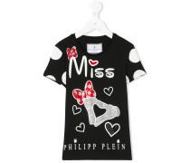 'Miss' T-Shirt mit Print