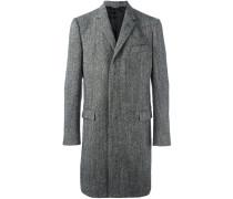 Tweed-Schurwollmantel