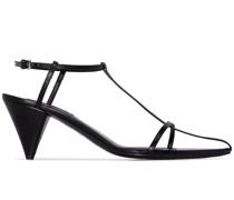 Sandalen aus Leder, 65mm
