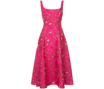 floral embroidery dress - women