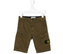 Cargo-Shorts mit Logo-Patch - kids