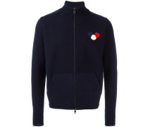 Cardigan mit Logo-Patch