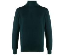 roll neck cotton jumper