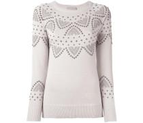 Pullover mit Nieten - women