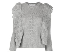 Pullover in Pointelle-Strick