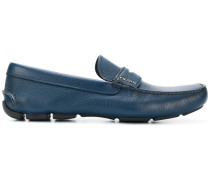 Penny-Loafer mit geriffelter Sohle