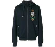 insignia patch hoodie