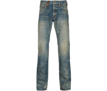 'Rambler' Jeans im Used-Look
