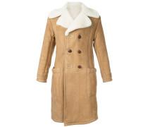 furry trim coat